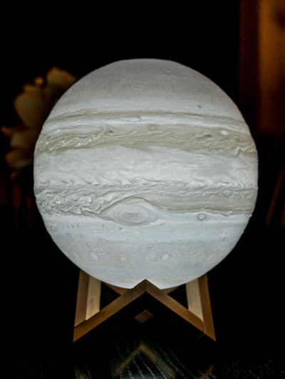 Jupiter Lamp - White