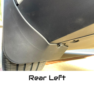 Tesla Model Y Mud Flaps Splash Guards - Rear Left - 2