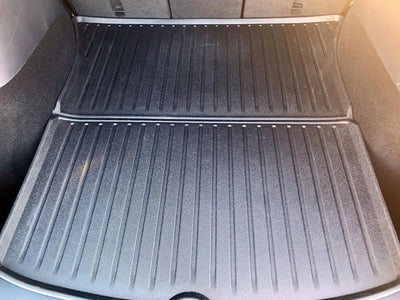 Tesla Model Y Rear Trunk Mat - Installed
