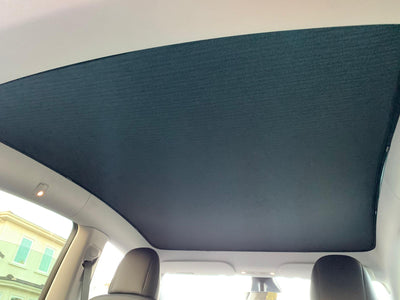 Tesla Model Y Glass Roof Sunshade - 03
