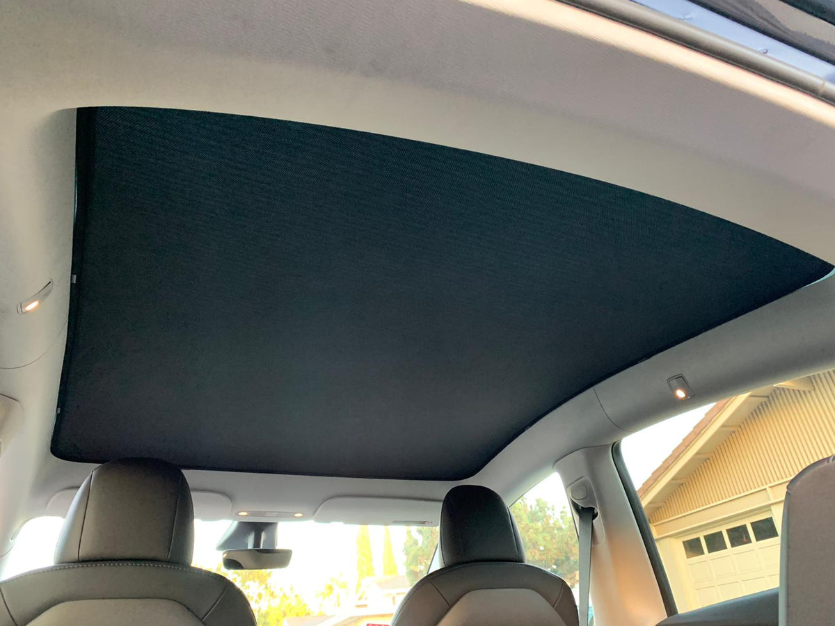 Tesla Model Y Glass Roof Sunshade - 04