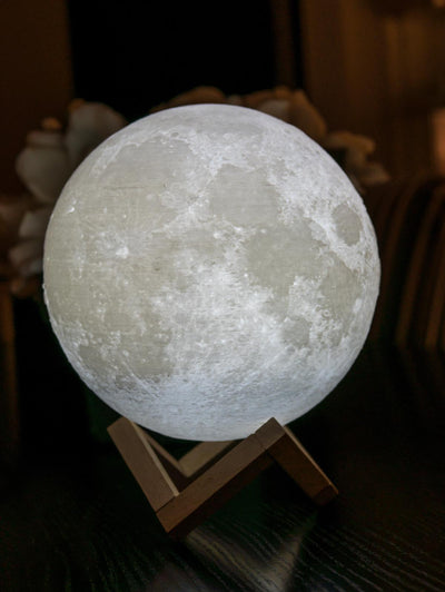 Moon Lamp - White