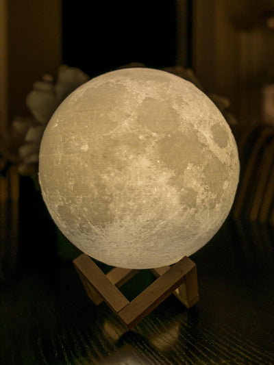 Moon Lamp - Yellow