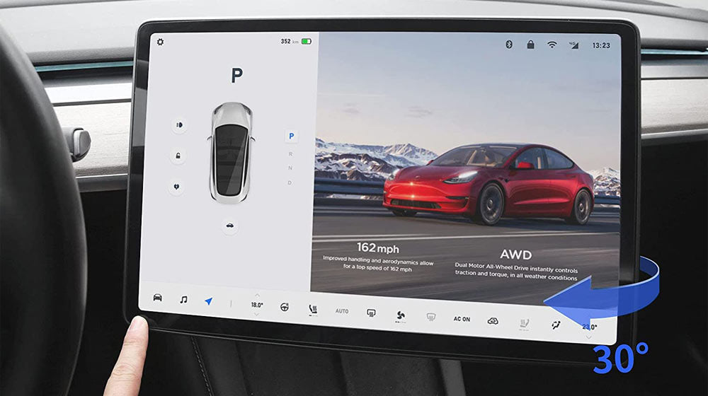 Tesla Model Y & Model 3 Screen Rotating Bracket