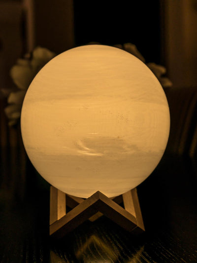 Neptune Lamp - Yellow