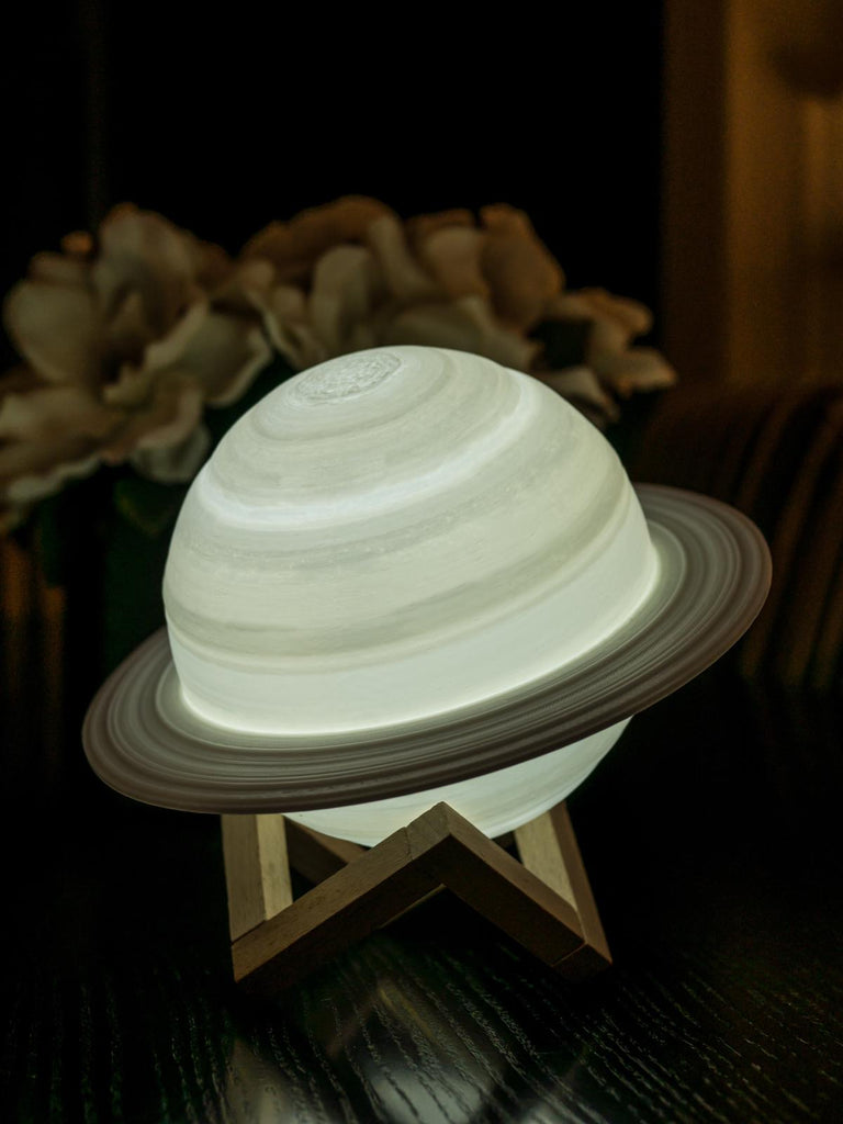 Saturn Lamp - White