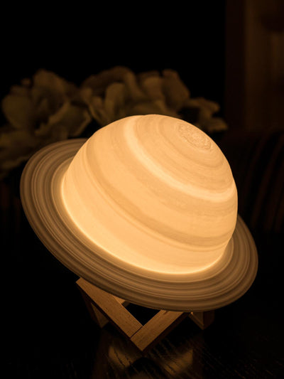 Saturn Lamp - Yellow