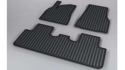 2020-2021 Tesla Model Y Rubber Floor Mats
