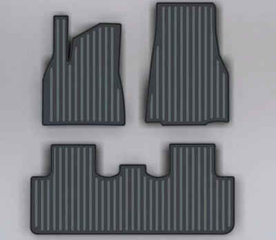 2020-2021 Tesla Model Y Rubber Floor Mats - 2