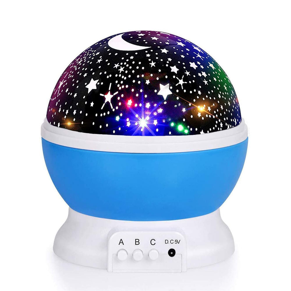 Moon Star Projector (Baby Night Light)