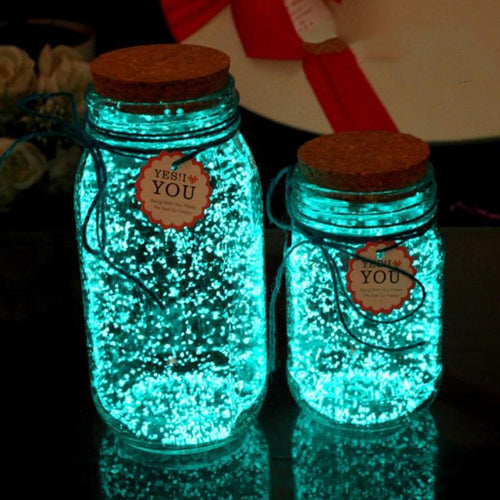 Glow In The Dark Wishing Bottle (9 Colors)