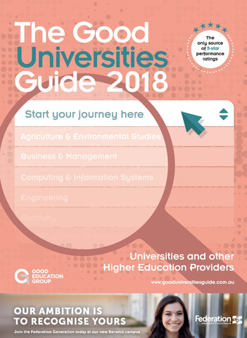 The Good Universities Guide 2018