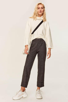 Anthracite Waist Pants - DiPrié