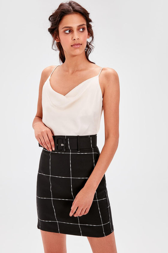 Black & White Skirt - DiPrié