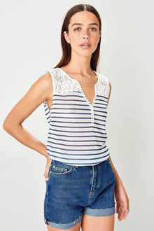 Embroidered White T Shirt - DiPrié