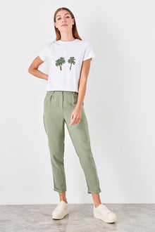 Green Carrot Pants - DiPrié