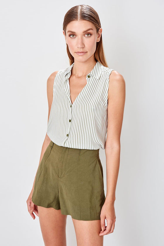 Mint Striped Shirt - DiPrié