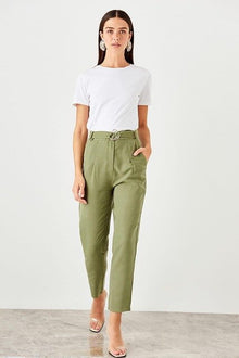 Plum arched trousers - DiPrié