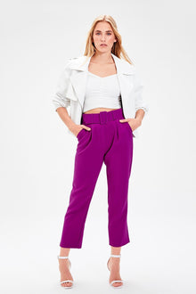 Purple Belt Pants - DiPrié