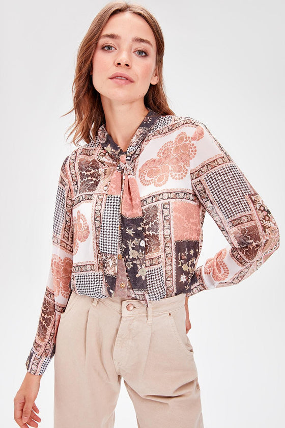 Tile Pattern Shirt - DiPrié