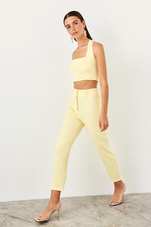 Yellow Flare Pants - DiPrié