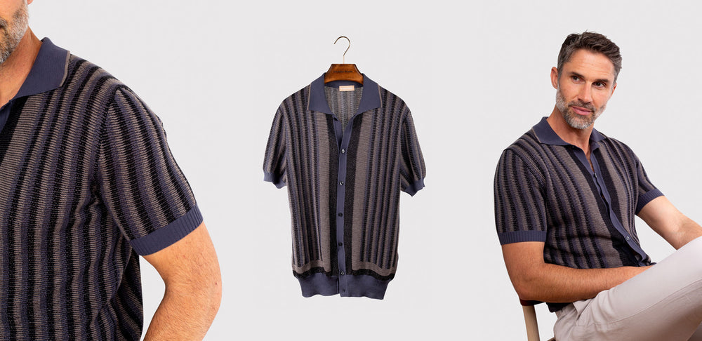 Pre-order for June 30th Arrival - Riviera Short Sleeved Knit Polo
