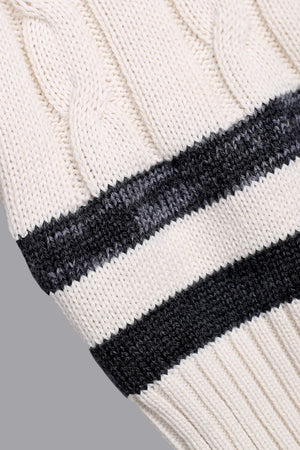 Load image into Gallery viewer, Cricket Knit - Cotton Cable Ivory