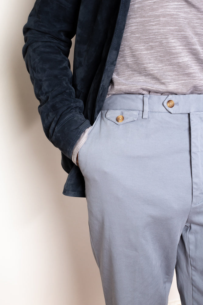 Load image into Gallery viewer, Garment Dyed Chino - Light Grey