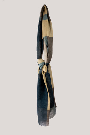 LONDON PATCHWORK SCARF - Cashmere blend