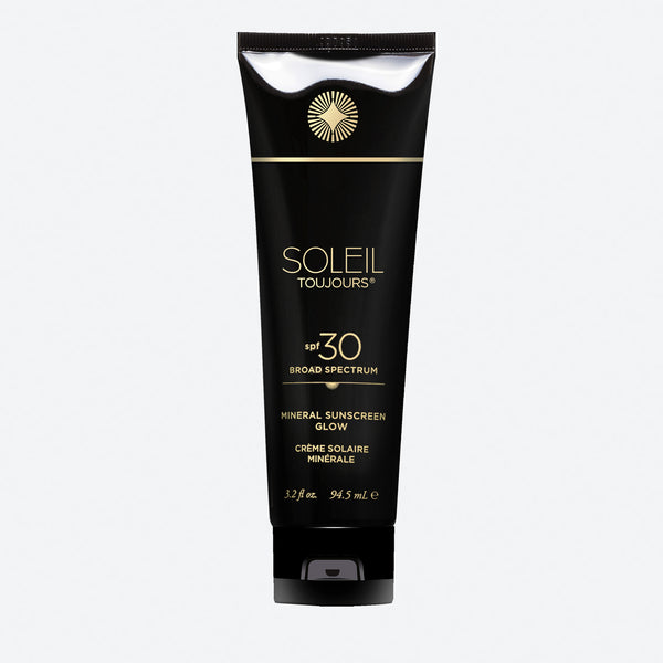 100% Mineral Sunscreen Glow SPF 30