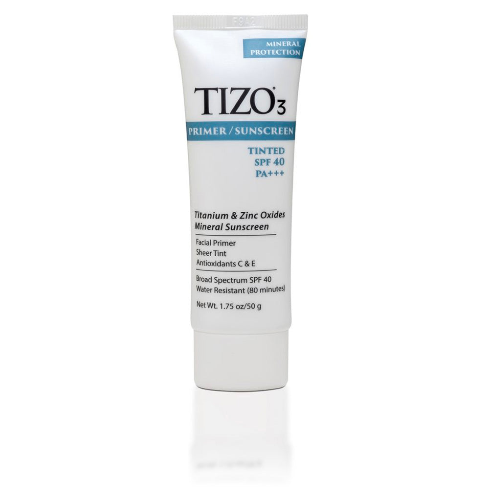 TIZO3 FACIAL PRIMER SUNSCREEN (Tinted Matte Finish SPF 40)