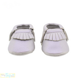 Sterling Baby Moccasins