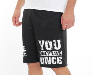 YOLO Pocketed Performance Shorts