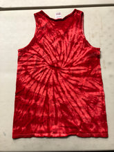 Load image into Gallery viewer, Red Tie-Dye Tank