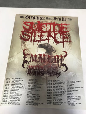 Stronger Than Faith Tour Poster (18x24)
