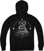 "Load image into Gallery viewer, ""Become The Hunter"" Zip-Up Hoodie"