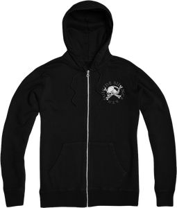 """Become The Hunter"" Zip-Up Hoodie"