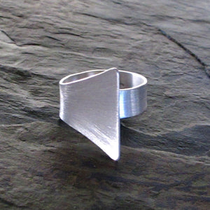 Silver Cleopatra Ring