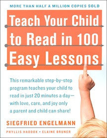 Siegfried Engelmann Teach Your Child to Read in 100 Easy Lessons Singapore