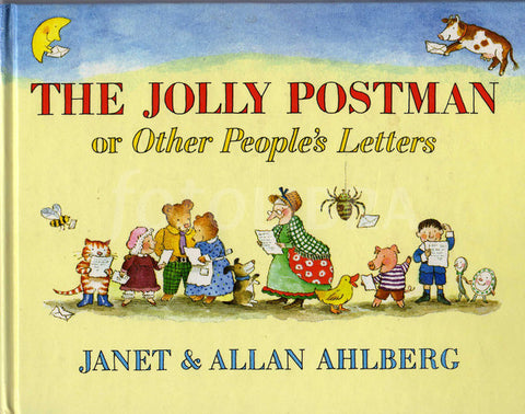 Allan Ahlberg The Jolly Postman or Other People's Letters Singapore