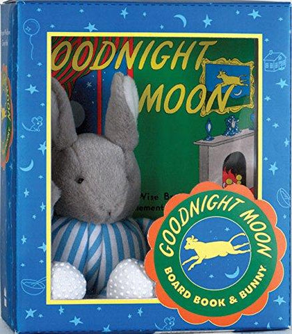Goodnight Moon with Plush Toy by Margaret Wise Brown (Board Book)