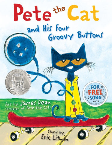 Eric Litwin Pete the Cat and His Four Groovy Buttons Singapore
