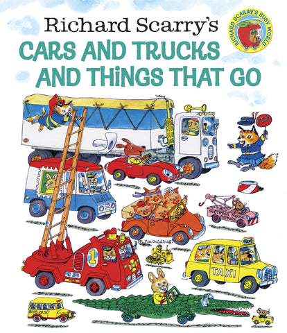 Richard Scarry Cars and Trucks and Things That Go Singapore