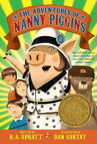 The Adventures of Nanny Piggins by R A Spratt (Paperback)