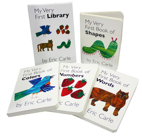 My Very First Library by Eric Carle (Board Book) – My Imagination ...