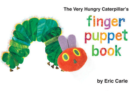 The Very Hungry Caterpillar's Finger Puppet Book by Eric Carle (Board Book)