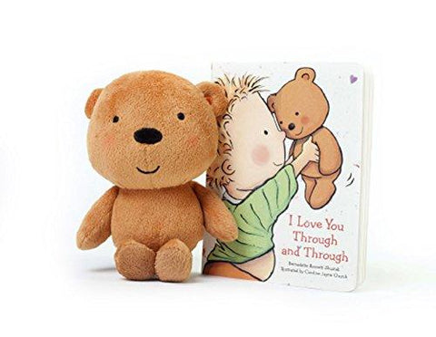 I Love You Through and Through with Plush by Bernadette Rossetti-Shustak