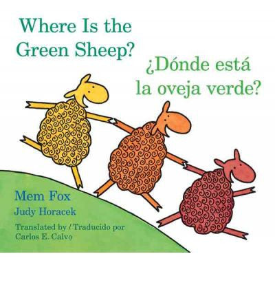 Where Is the Green Sheep? by Mem Fox (Board Book)