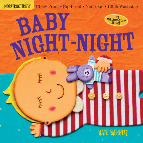 Kate Merritt Indestructibles Baby Night Night Singapore