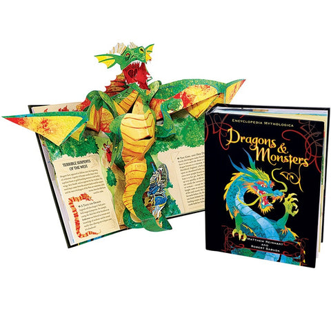 Matthew Reinhart Robert Sabuda Encyclopedia Mythologica Dragons & Monsters Pop-Up Singapore